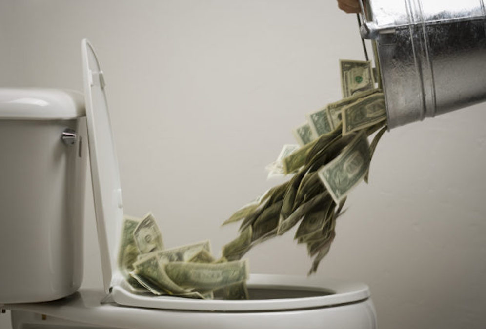 Flushing-Money-down-the-toilet